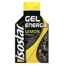 ג'ל אנרגיה בטעם לימון ISOSTAR