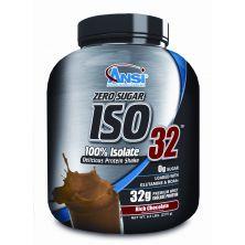 """אבקת חלבון מי גבינה בטעם שוקולד 2.27 ק""""ג ANSI ISO 32"""