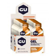 מארז 24 יח' ג'ל אנרגיה בטעם קרמל מלוח GU