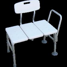 כסא העברה טלסקופי לאמבטיה