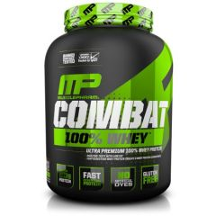 "אבקת חלבון קומבט 100% וניל 1.8 ק""ג MusclePharm"