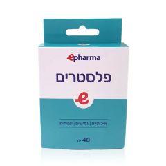 פלסטרים חומים 40 יחידות - epharma