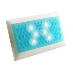 כרית ג'ל עם פתחי אוורור בצבע כחול Comfort Living