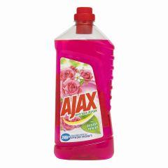 נוזל לניקוי רצפות חגיגת פרחים ורוד  AJAX