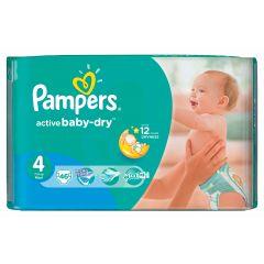 חיתולים שלב 4 פמפרס Pampers active baby-dry