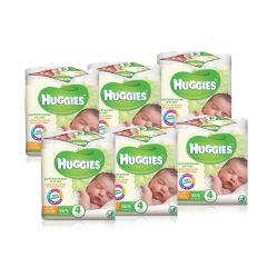 24 יחידות מגבונים לחים לתינוק בניחוח עדין האגיס Huggies
