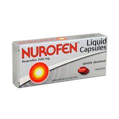 נורופן קפסולות נוזל NUROFEN LIQUID CAPS