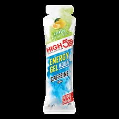 ג'ל אנרגיה בתוספת קפאין בטעם לימון HIGH5 ANERGY GEL AQUA