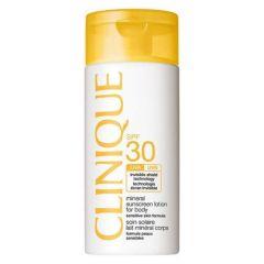 """תכשיר הגנה לגוף קליניק 125 מ""""ל Clinique SPF30 Mineral Sunscreen Lotion For Body"""