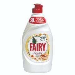 """פיירי נוזל לניקוי כלים בניחוח קמומיל 450 מ""""ל Fairy"""