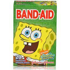 פלסטרים לבנים בוב ספוג BAND-AID