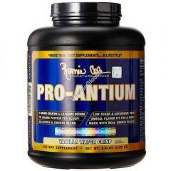 """אבקת חלבון פרו אנטיום וניל בוופל פריך/ 2.50 ק""""ג PRO-ANTIUM"""