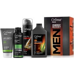 מארז לגבר Crema MEN ENERGY BOOST