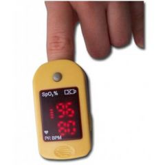 מד חמצן ודופק פולס אוקסימטר Pulse Oximeter MD300-C