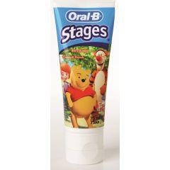 משחת שיניים לילדים בטעם פירות יער לגילאי 2-6 שנים ORAL-B