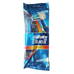מכשירי גילוח חד-פעמיים BLUE II PLUS - ג'ילט Gillette