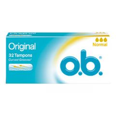 טמפוני או-בה נורמל 32 יחידות O.B