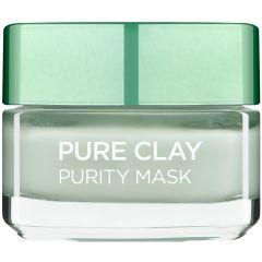 מסכת חימר לטיהור העור L'OREAL PURE CLAY PURITY