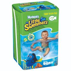 "בגד ים 7-15 ק""ג האגיס Haggies Little swimmers"