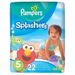 מכנסוני שחייה פמפרס ספלשרס מידה 5