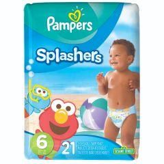 מכנסוני שחייה פמפרס ספלשרס מידה 6