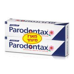 זוג משחת שיניים פרודונטקס כחול ללא פלואוריד