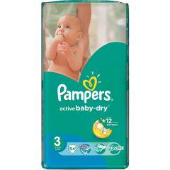 חיתולים שלב 3 פמפרס Pampers active baby-dry