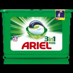 אריאל קפסולות ג'ל לכביסה ARIEL 3 in 1