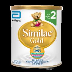 תרכובת מזון סימילאק גולד על בסיס חלב שלב 2 Similac Gold