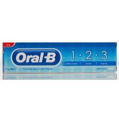 משחת שיניים 1.2.3 ORAL-B TOOOTHPASTE