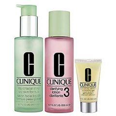 ערכת שלושת השלבים לעור סוג 3 קלינק Clinique