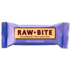 חטיף חלבון רואוו בייט וניל פירות יער Raw Bite
