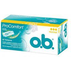 טמפונים נורמל O.B ProComfort