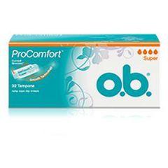 טמפונים סופר O.B ProComfort