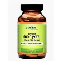 סופהרב ויטמין C 500 קומפלקס 90 טבליות SupHerb