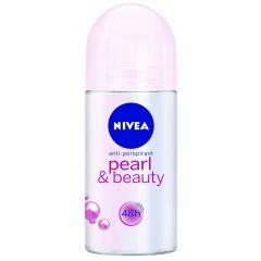 דאודורנט רול-און NIVEA pearl & beauty
