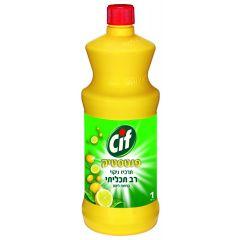 סיף פנטסטיק תרכיז לניקוי כללי בניחוח לימון - 1 ליטר Cif