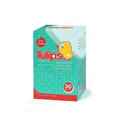 פדים להנקה 30 יחידות - טוליפס Tulips