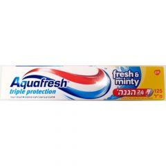 """משחת שיניים אקווה פרש מנטה 125 מ""""ל Aqua Fresh"""