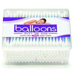 מקלוני כותנה לאוזניים balloons