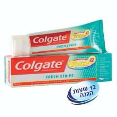 משחת שיניים Colgate Total Fresh Stripe