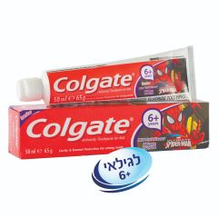 משחת שיניים ספיידרמן קולגייט Colgate