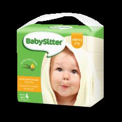 רביעיית מגבונים לתינוק בבישום עדין בייביסיטר פרפורמנס
