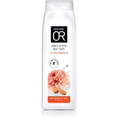 """תחליב רחצה לעור יבש בניחוח פרחי בר 700ml - ד""""ר עור DR OR"""
