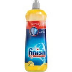 """פיניש נוזל הברקה למדיח כלים בניחוח לימון 800 מ""""ל FINISH"""
