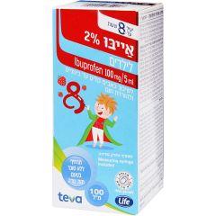 אייבו 2% 200ml לילדים - טבע TEVA