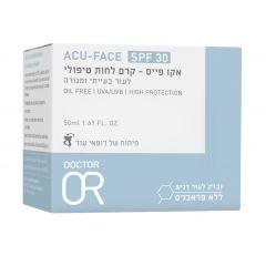 """ACU OR - קרם לחות טיפולי לעור יבש הנוטה לפגמים 50 מ""""ל ד""""ר עור Dr. Or"""