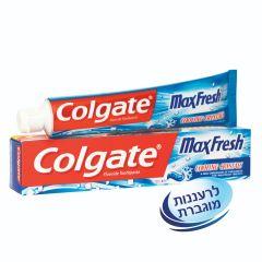 """משחת שיניים מקס פרש קולינג קריסטל קולגייט 125 מ""""ל Colgate"""