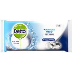 מטליות לחות לחדר האמבטיה - 60 יחידות - דטול Dettol