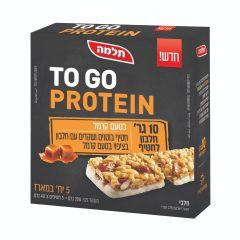 חטיף חלבון TO GO PROTEIN בטעם קוקוס - 5 יחידות - תלמה